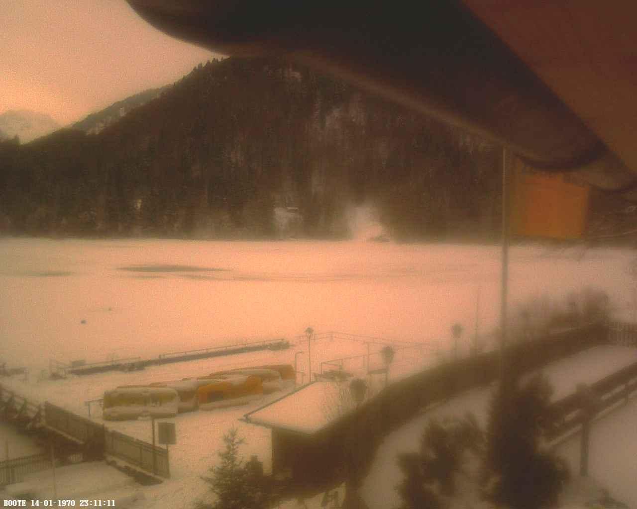 Webcam Allgäu - Oberstdorf - Webcam vom Naturfreibad Freibergsee
